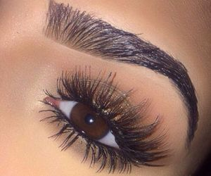 eye, flawless, and lashes image
