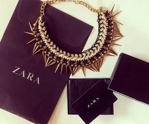 Zara, fashion, and necklace image