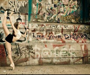 ballet, street, and dance image