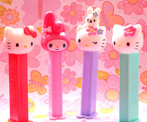 hello kitty and pez image