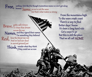 country music, home, and soldiers image