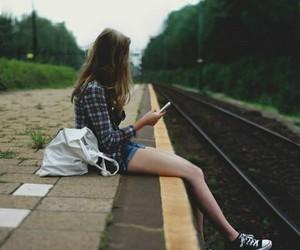 girl, photo, and photography image