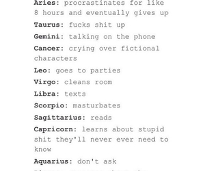 Image about text in zodiac ♉️ by Lost Girl on We Heart It