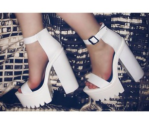 heels, platforms, and shoes image