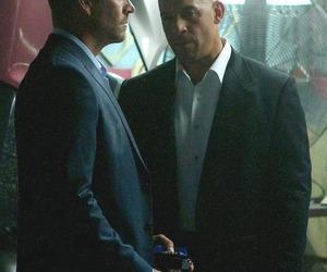 paul walker, Vin Diesel, and ff7 image