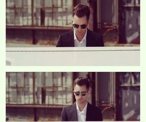 beautiful, brendon urie, and glasses image