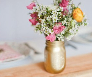 centerpiece, decor, and flowers image
