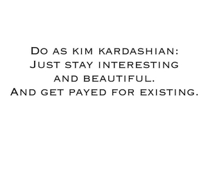 kim kardashian and quote image