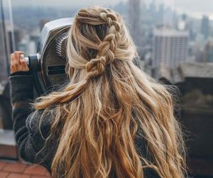 adventure, girl, and see image