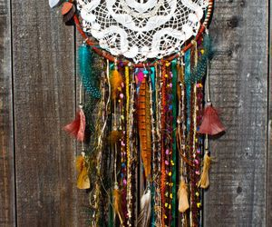 dreamcatcher and hippie image