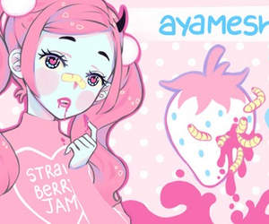 anime, girl, and ayameshiroi image