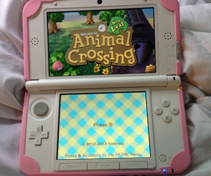 game, pink, and animal crossing image