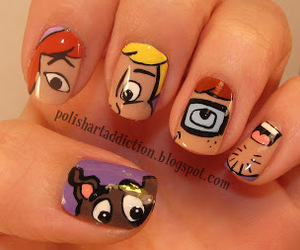 nails and scooby doo image