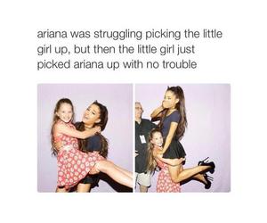 ariana grande, funny, and lol image