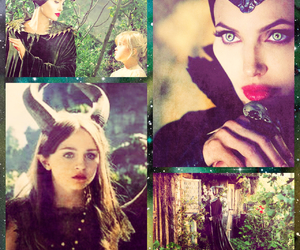 Angelina Jolie, beautiful, and forest image
