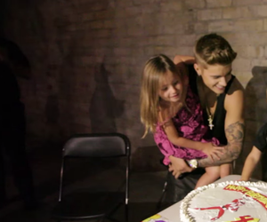 jazzy, justin, and bieber image