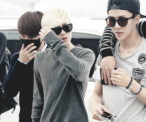 suho, sehun, and exo image