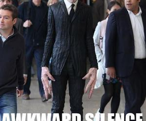 doctor who, silence, and funny image