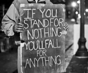 quotes, stand, and fall image