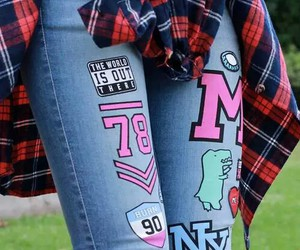 jeans and labels image