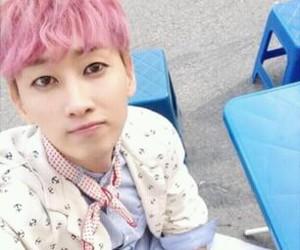 boy, hair, and korea image