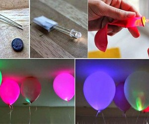 diy, balloons, and tutorial image