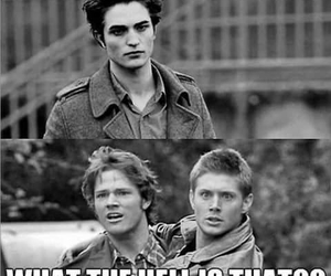 supernatural, twilight, and funny image