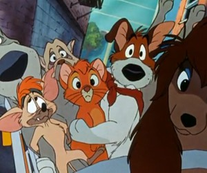 disney and oliver and company image