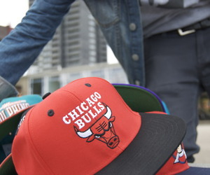 chicago bulls, swag, and hat image