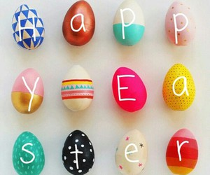 happy easter and holiday image