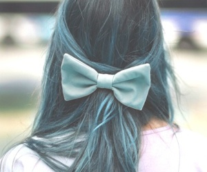 blue hair, girl, and pastel colours image