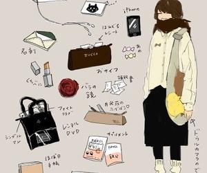 art, bag, and aki chan image