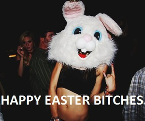 easter, bitch, and girl image