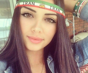 iran, beauty, and girl image