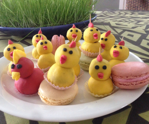 chicks, easter, and chocolate image