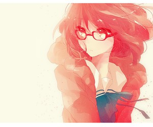 anime, kyoukai no kanata, and anime girl image