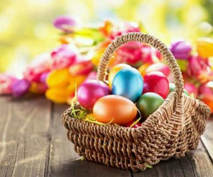 eggs, colorful, and colors image