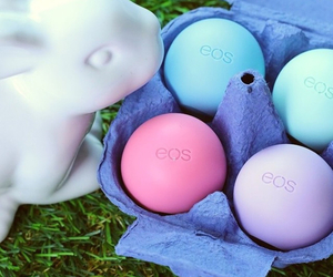 bunny, love, and eos lips image