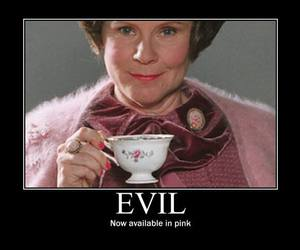 harry potter, evil, and pink image