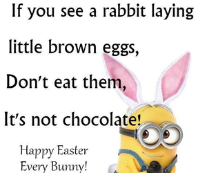 minions, easter, and funny image