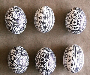 eggs, easter, and drawing image