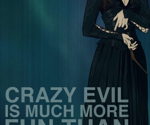 evil, harry potter, and crazy image