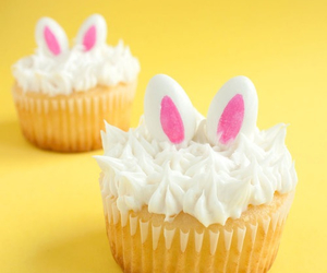 bunny ears, candy, and easter image