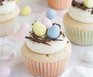 easter, food, and pastel image