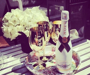 luxury, moet, and champagne image