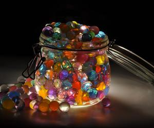colours, game, and marbles image