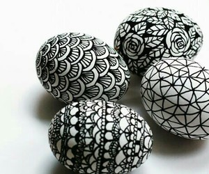 easter, art, and black image