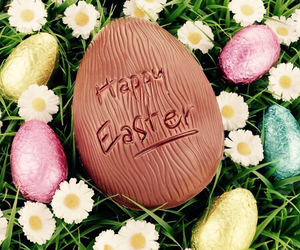 easter, chocolate, and happy easter image