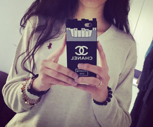 case, cigarettes, and coco chanel image