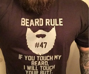 rule, beard, and quotes image